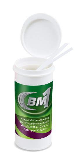 Bm1 test strip bottle