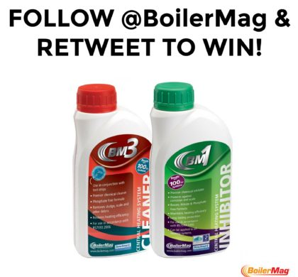 Win High Performance Heating System Chemicals in our Latest Twitter Competition
