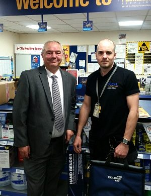 PHEX Competition Winners Receive £500 Plumbers' Tools