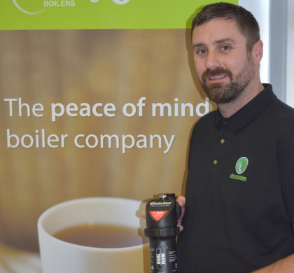 Boilermag Magnetic Filter Gets the Seal of Approval at A Shade Greener