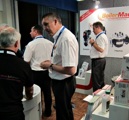 BoilerMag Magnetic Boiler Filter Exhibiting at PHEX Plumbing and Heating Exhibition in Manchester