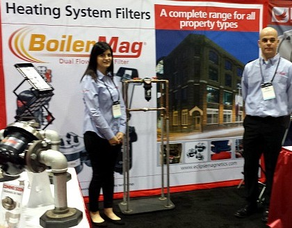 BoilerMag Exhibiting Range of Heating System Filters at AHR Show in Orlando, Florida