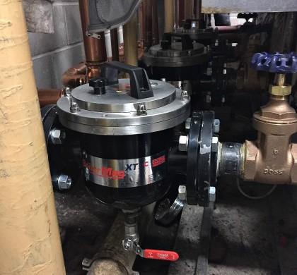 BoilerMag Industrial Boiler Filters Ensure Efficient Heating System of Glasgow Office Building