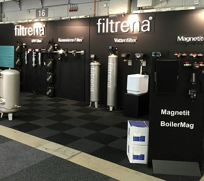 BoilerMag Filters Showcased at Nordbygg Exhibition in Sweden