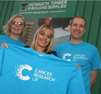 BoilerMag Supports Howarth Timber & Building Supplies' Fundraising Quest for Cancer Research