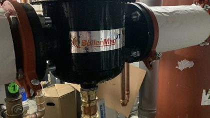 BoilerMagXT protects newly installed high-efficiency system