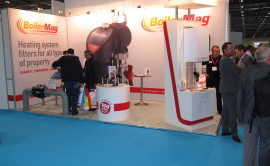 success at Ecobuild with BoilerMag products